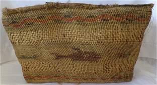 Makah Basketry Purse