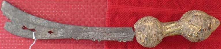 Royal African Ceremonial Sword