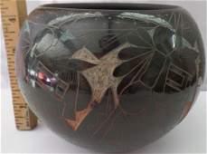 Signed Shalake Hopi Olla Bowl
