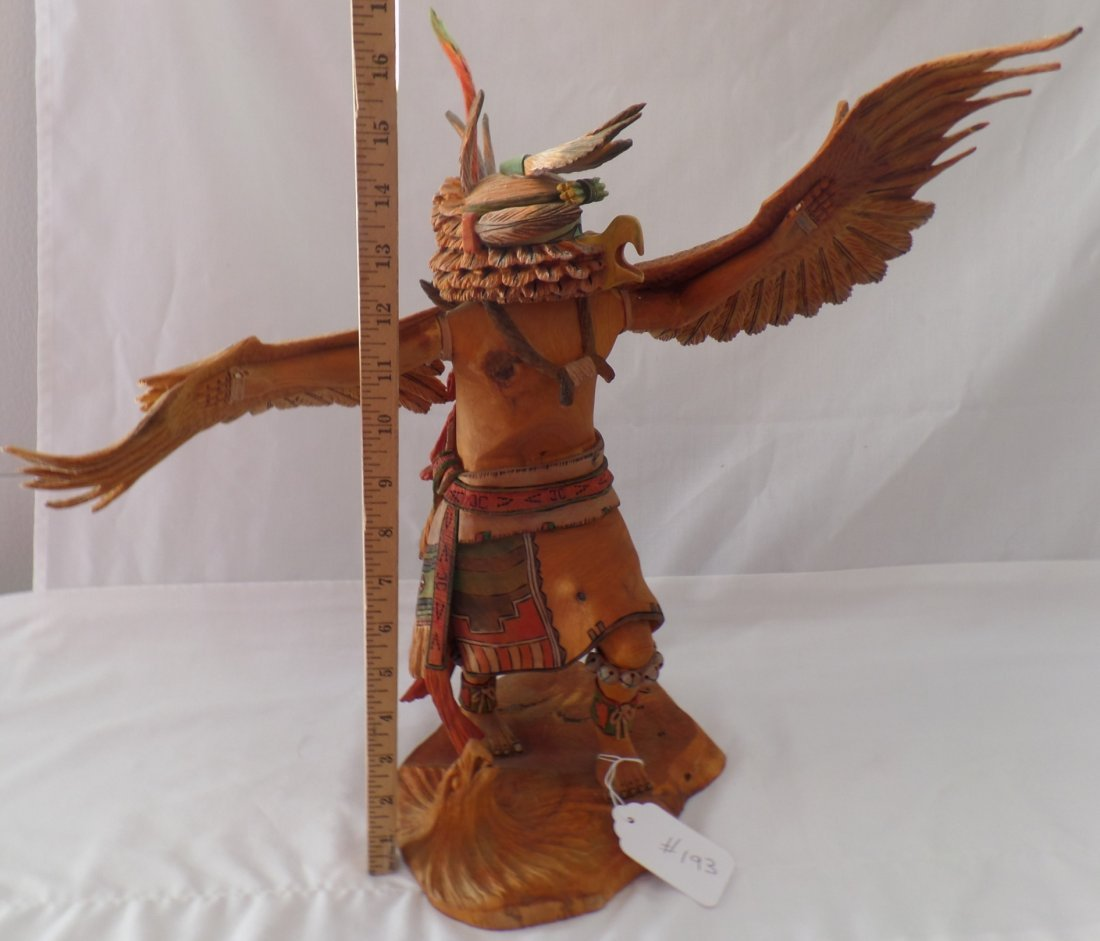 Fancy Hopi Carved Kachina