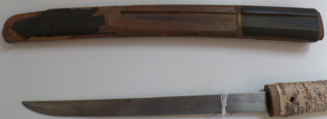 Antique Knife-WWII Japanese Tanto - 10