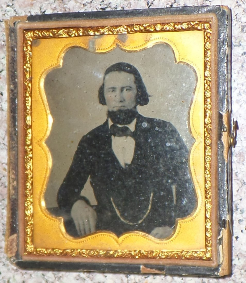 Framed original picture of Brigham Young