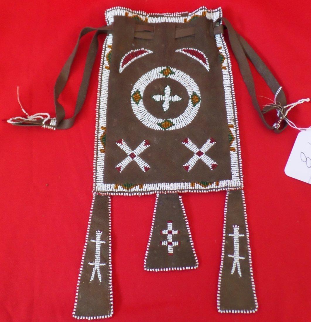 Apache Beaded Bag