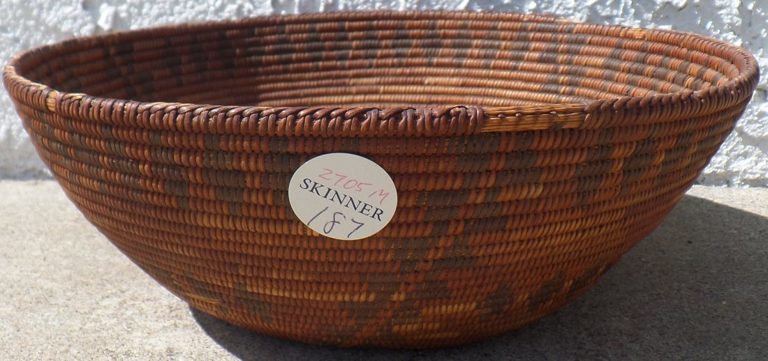 Antique Yokut Basket