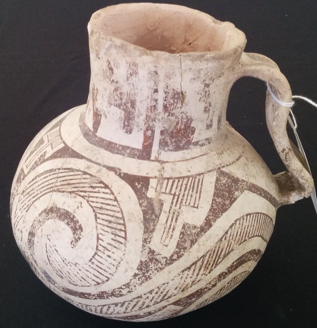 Anasazi Black and White Pitcher