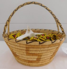 Papago Basket & Artifact Lot