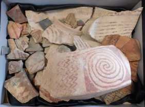 Collection Of Hohokam Pottery Pieces