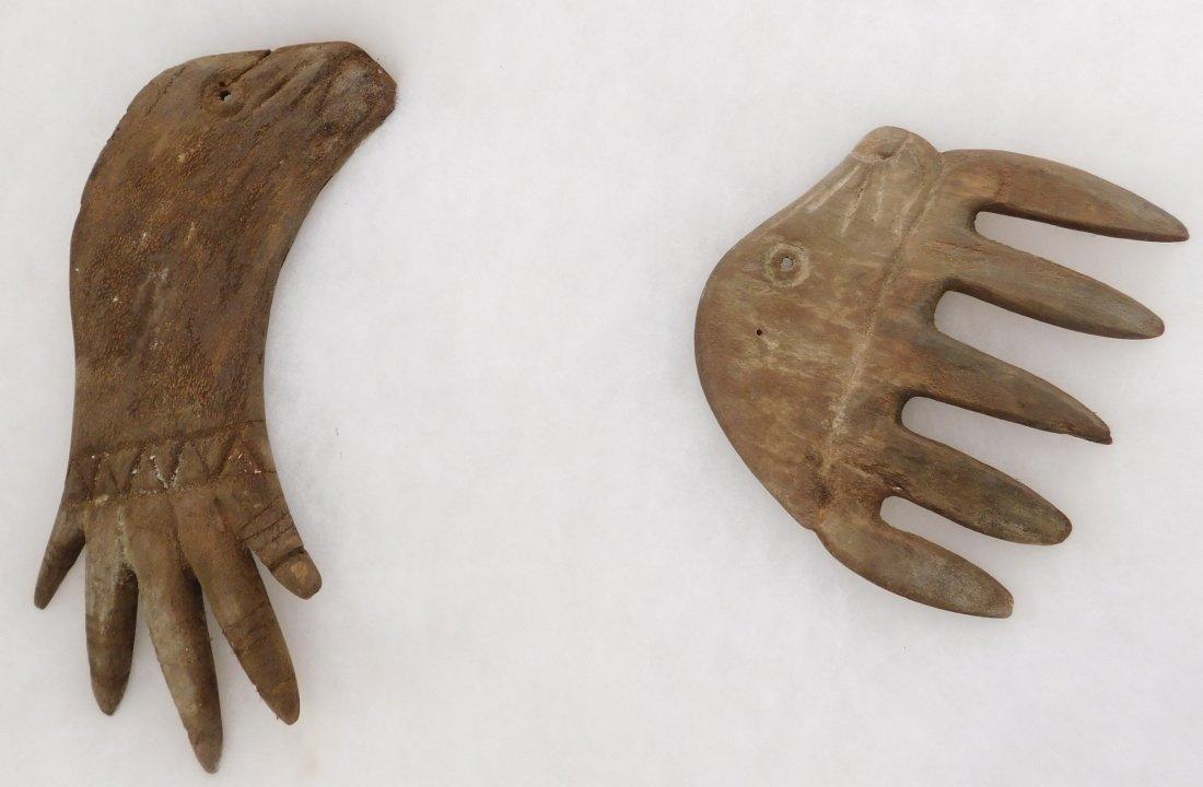 Eskimo Prehistoric Wood Ice Rakes