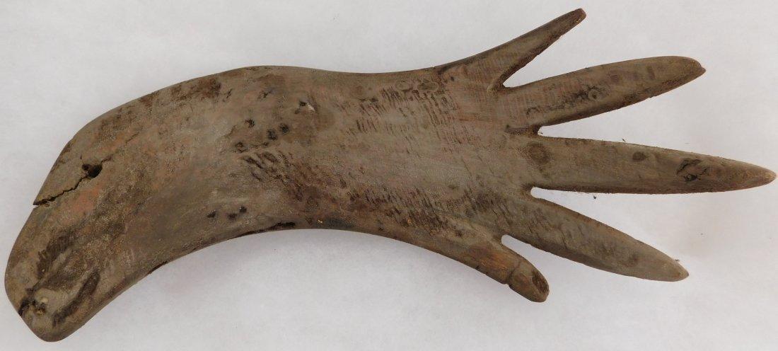 Eskimo Prehistoric Wood Ice Rakes - 5