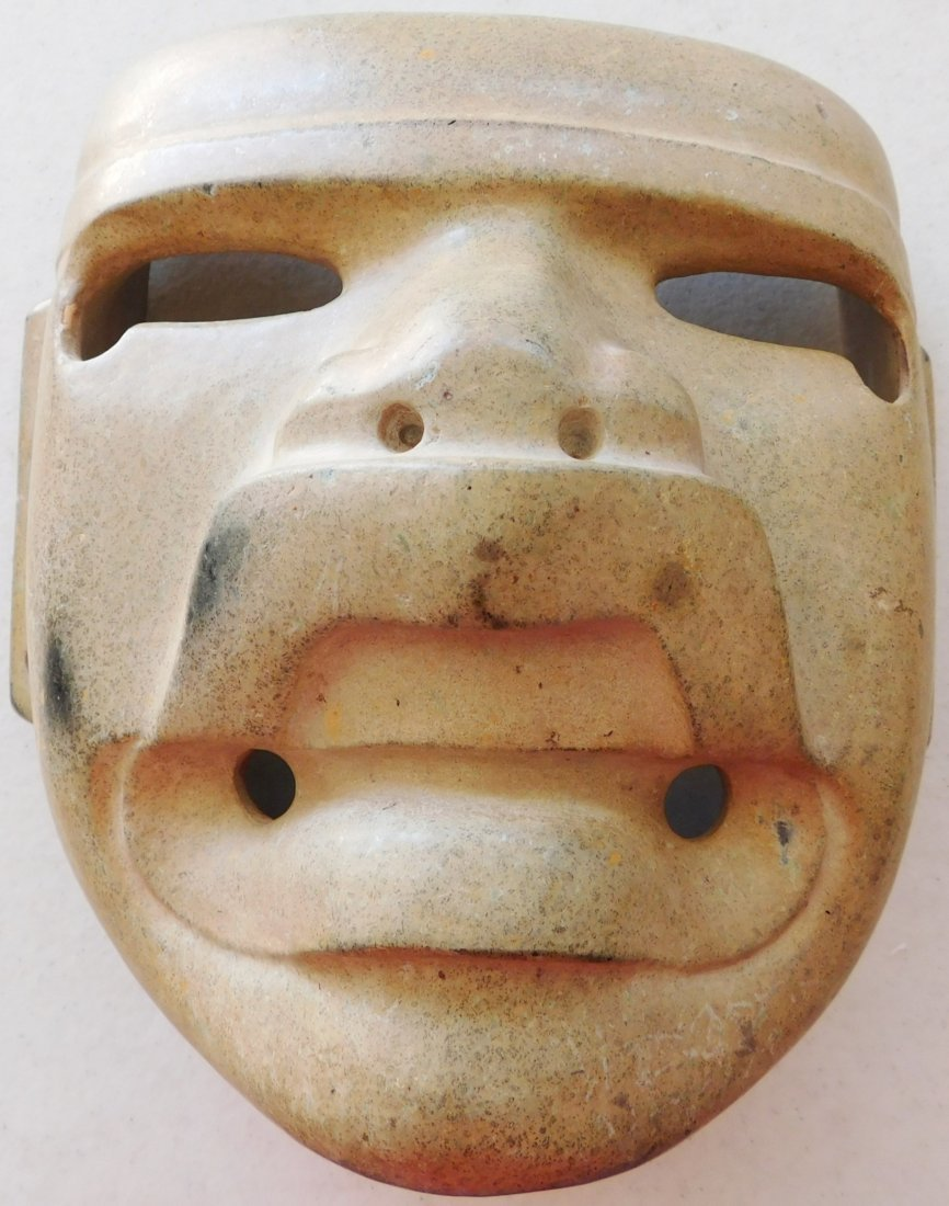 Authentic Olmec Transformation Mask