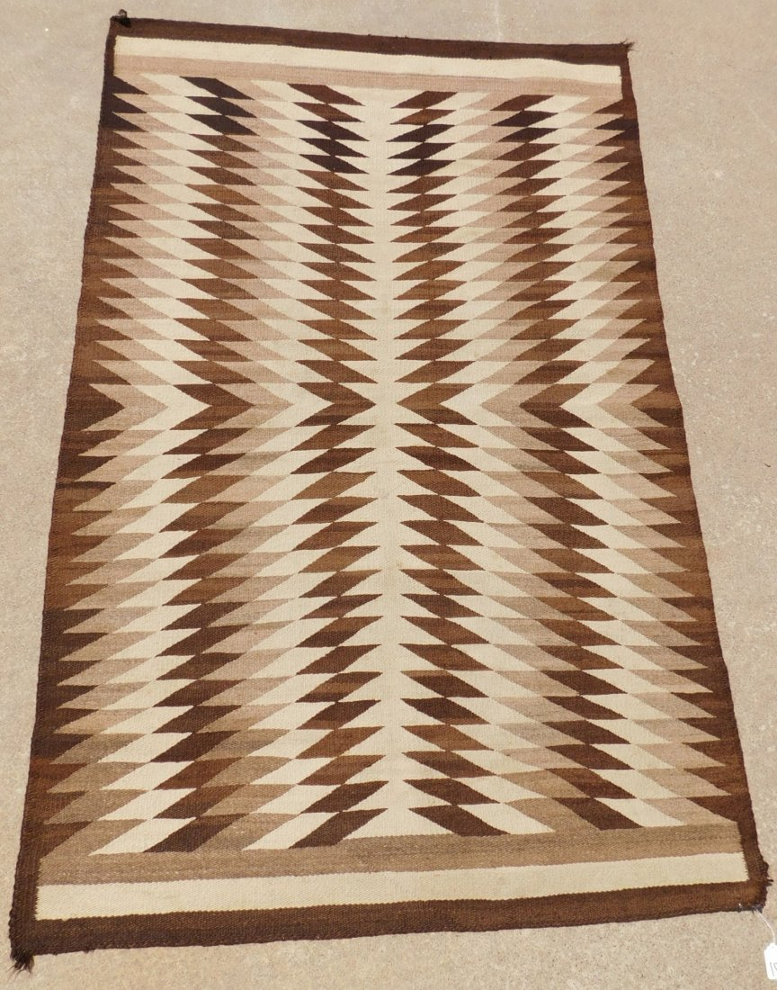 Navajo Eye Dazzler Weaving - 7