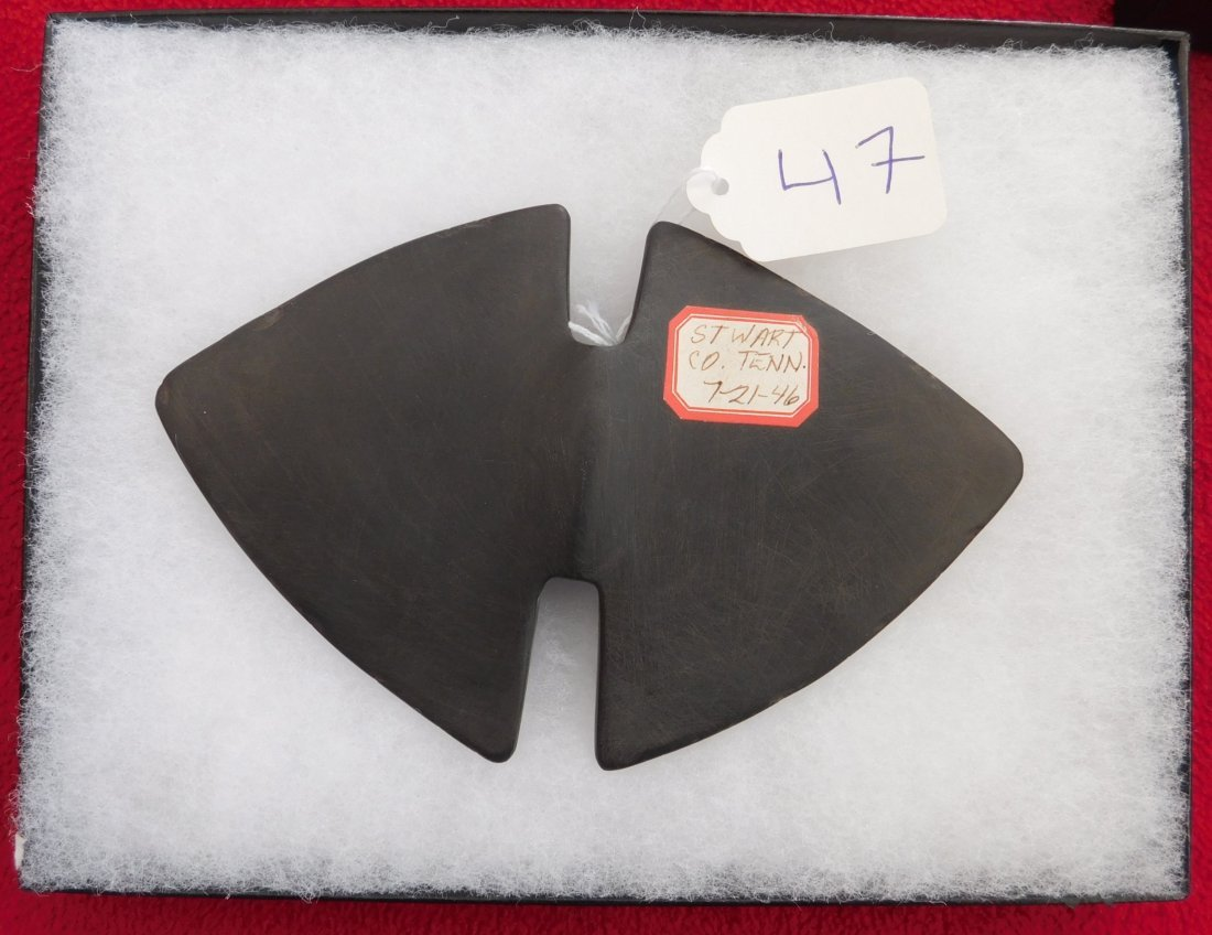 Authentic Slate Butterfly Bannerstone