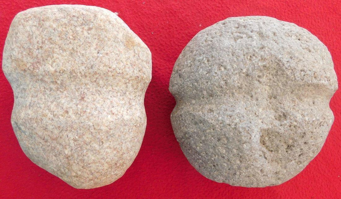 Pair of South Dakota Stone Mauls - 2