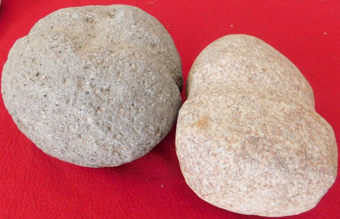 Pair of South Dakota Stone Mauls - 3