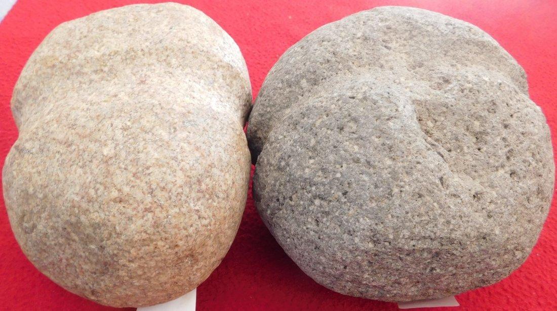 Pair of South Dakota Stone Mauls - 4