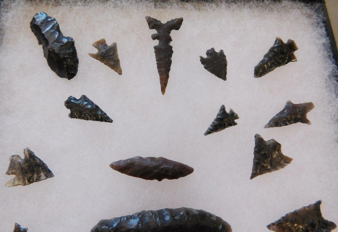 Frame of Obsidian Points - 4