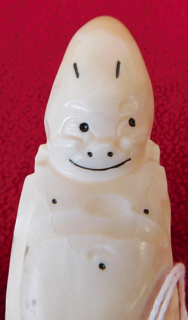 Eskimo Bone Figure - 6