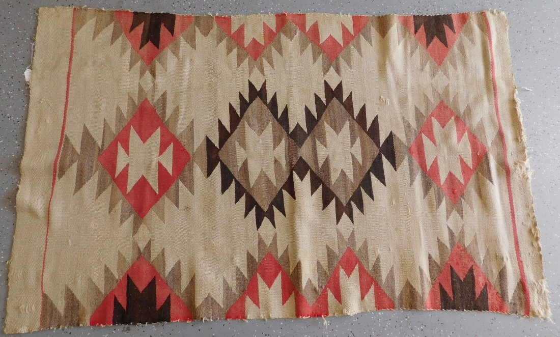 Transitional Navajo Weaving - 7