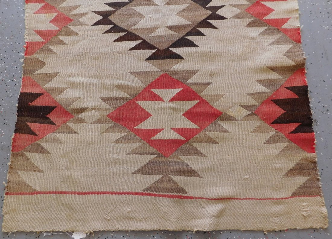 Transitional Navajo Weaving - 8