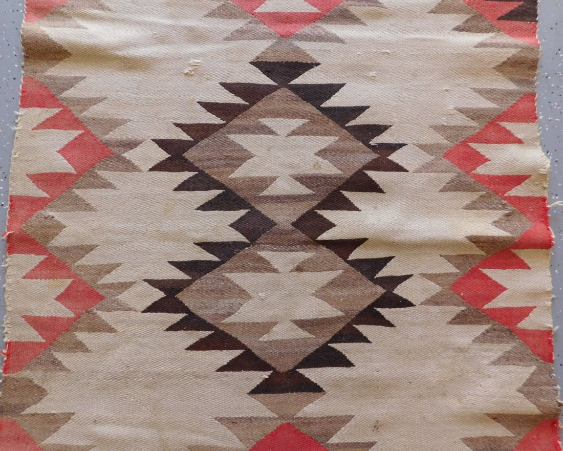 Transitional Navajo Weaving - 9