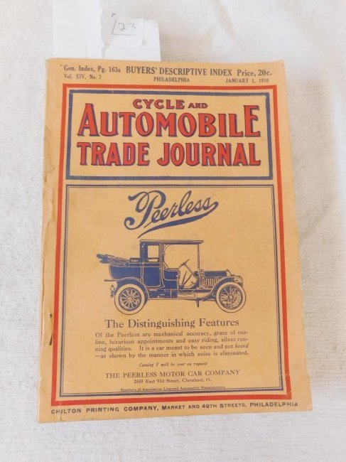 1910 Cycle & Automobile Trade Journal