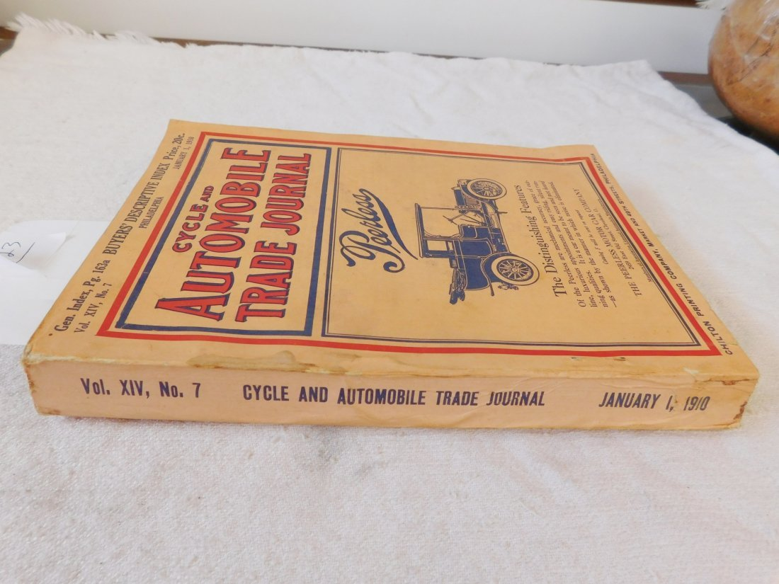 1910 Cycle & Automobile Trade Journal - 2
