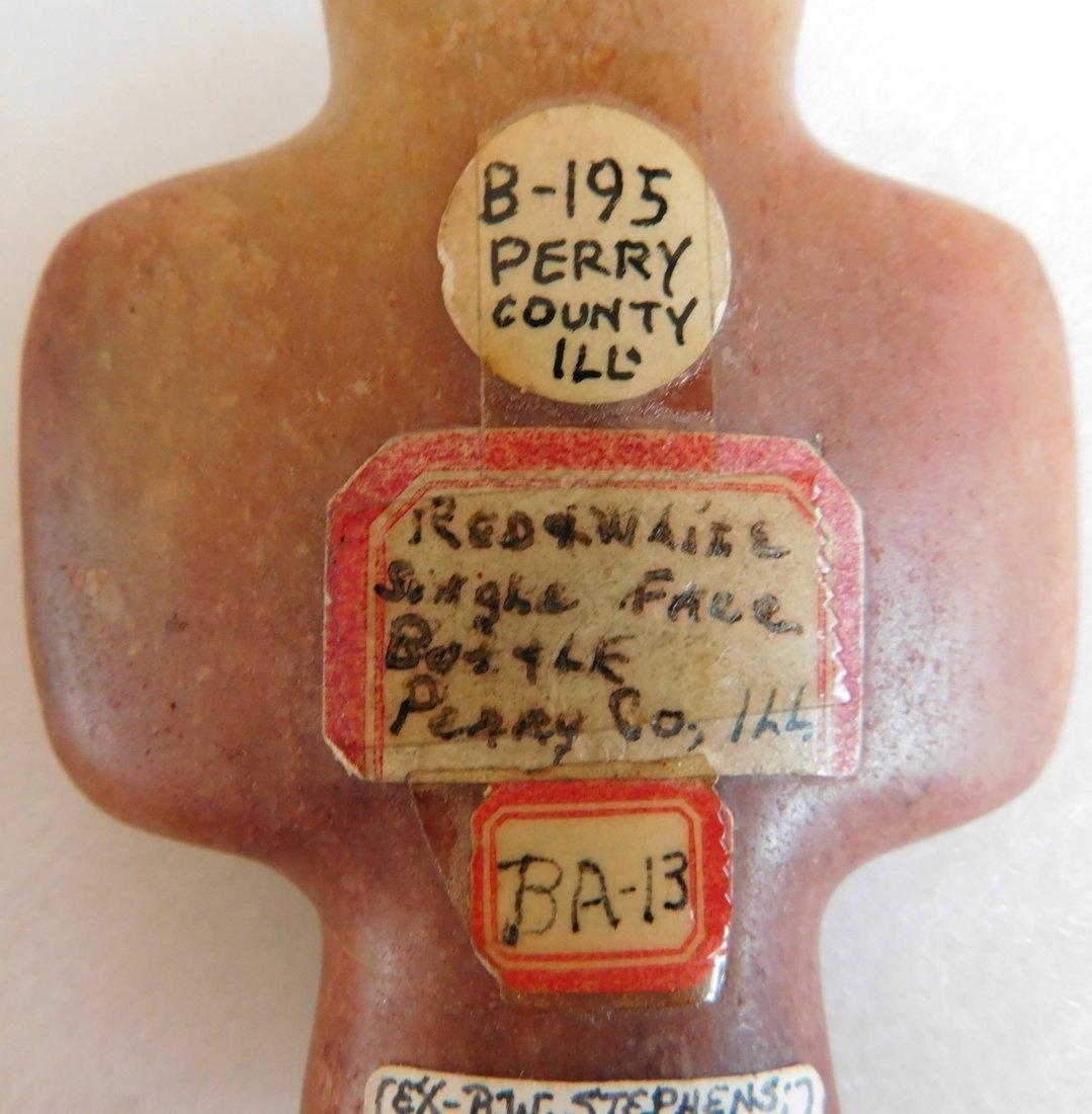 Orange Quartz Bottle Bannerstone - 4