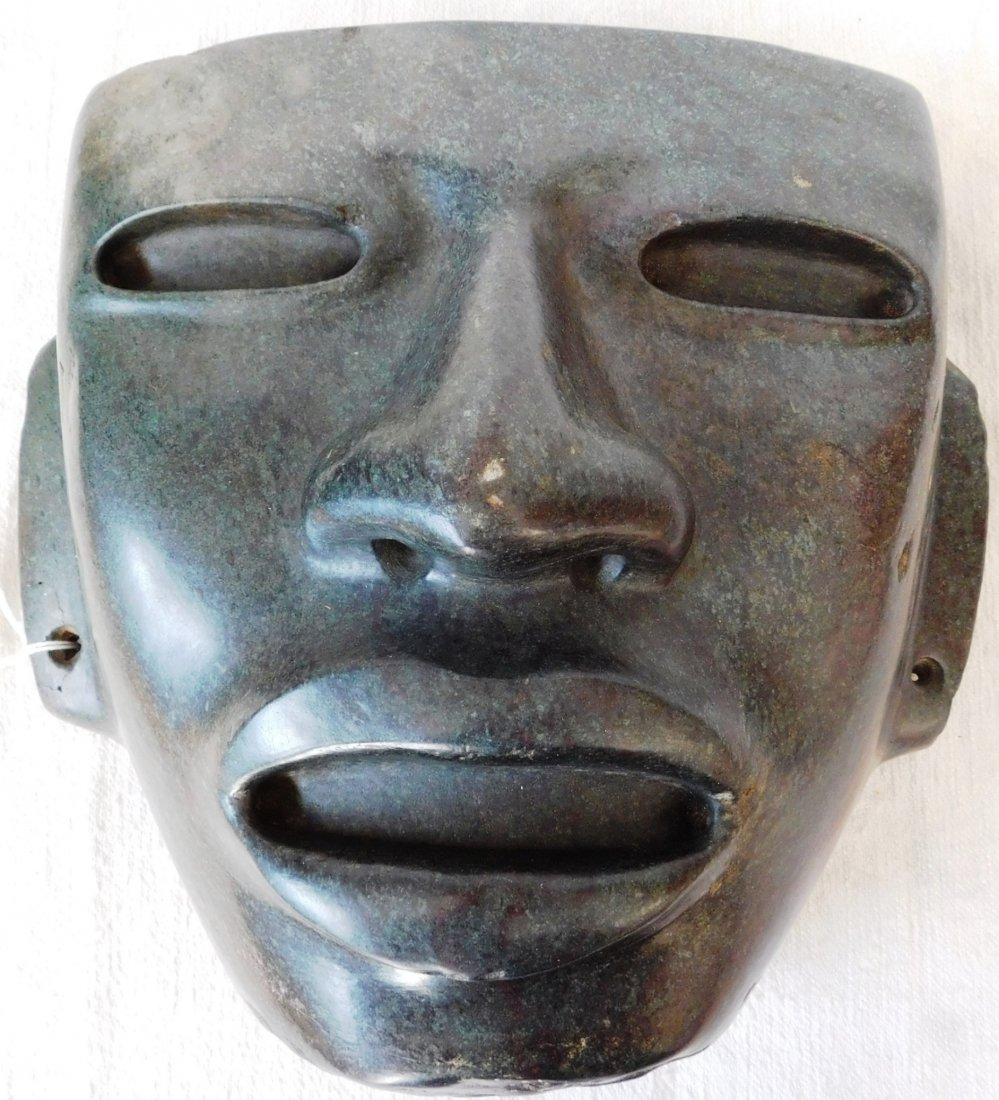 Large Teotihuacan Serpentine Mask