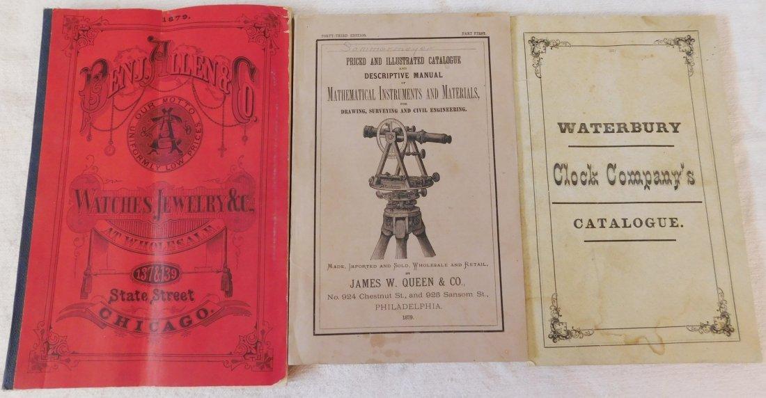 3 Clock, Watch, & Instrument Catalogs