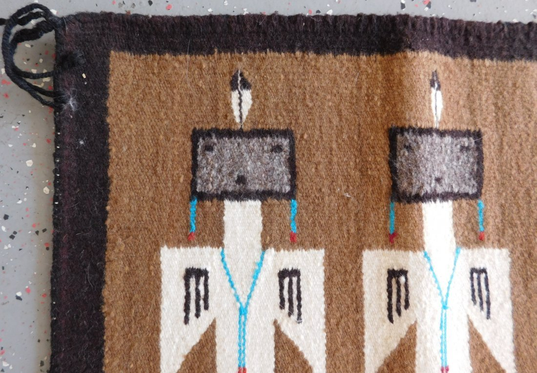 Yei Navajo Weaving - 4