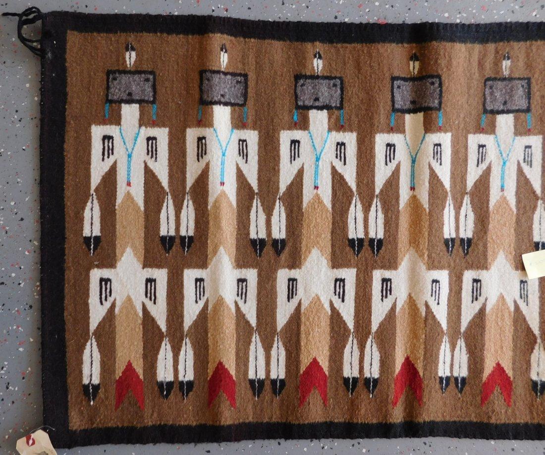 Yei Navajo Weaving - 5