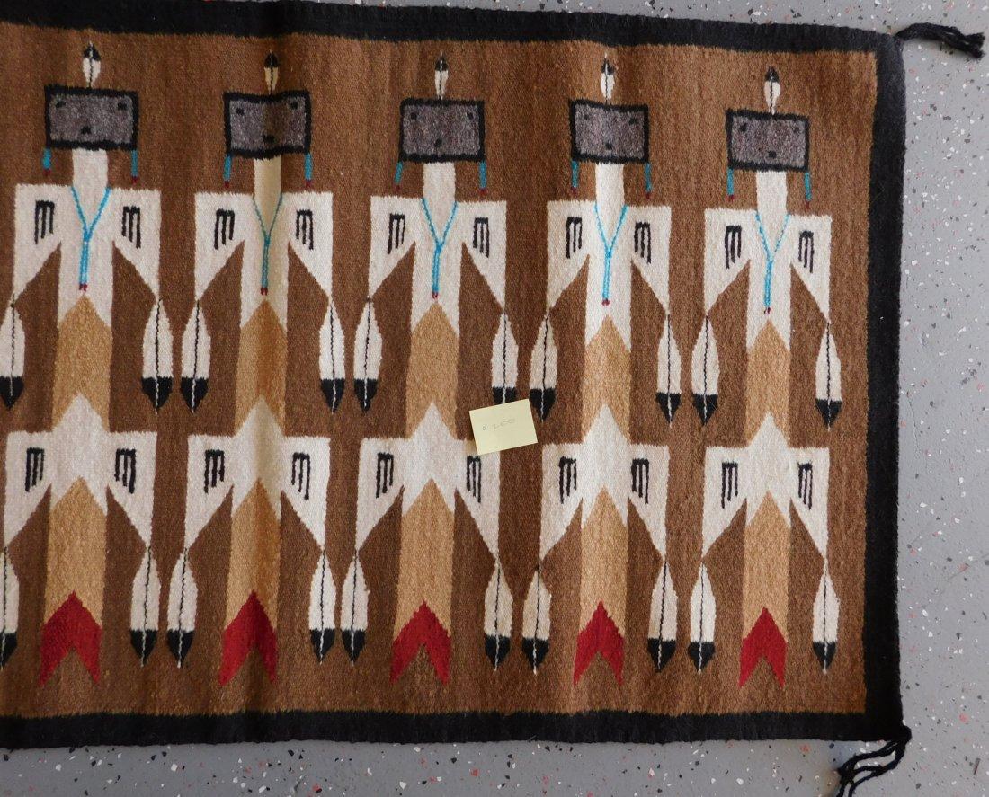 Yei Navajo Weaving - 6