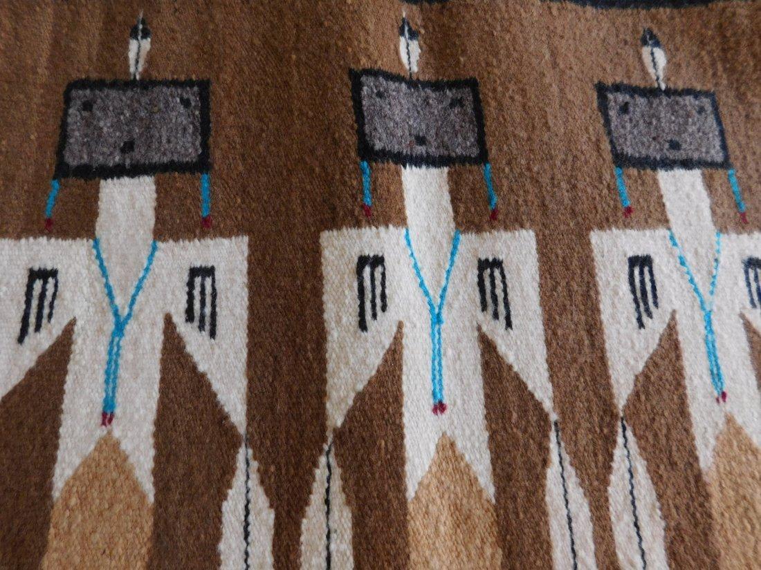 Yei Navajo Weaving - 7