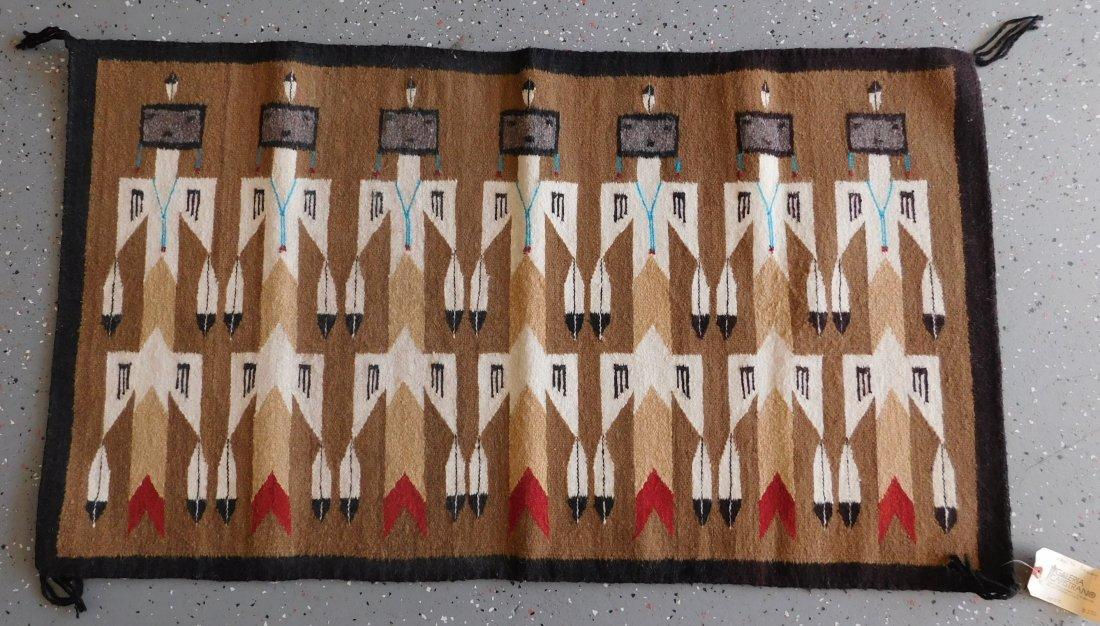 Yei Navajo Weaving - 8