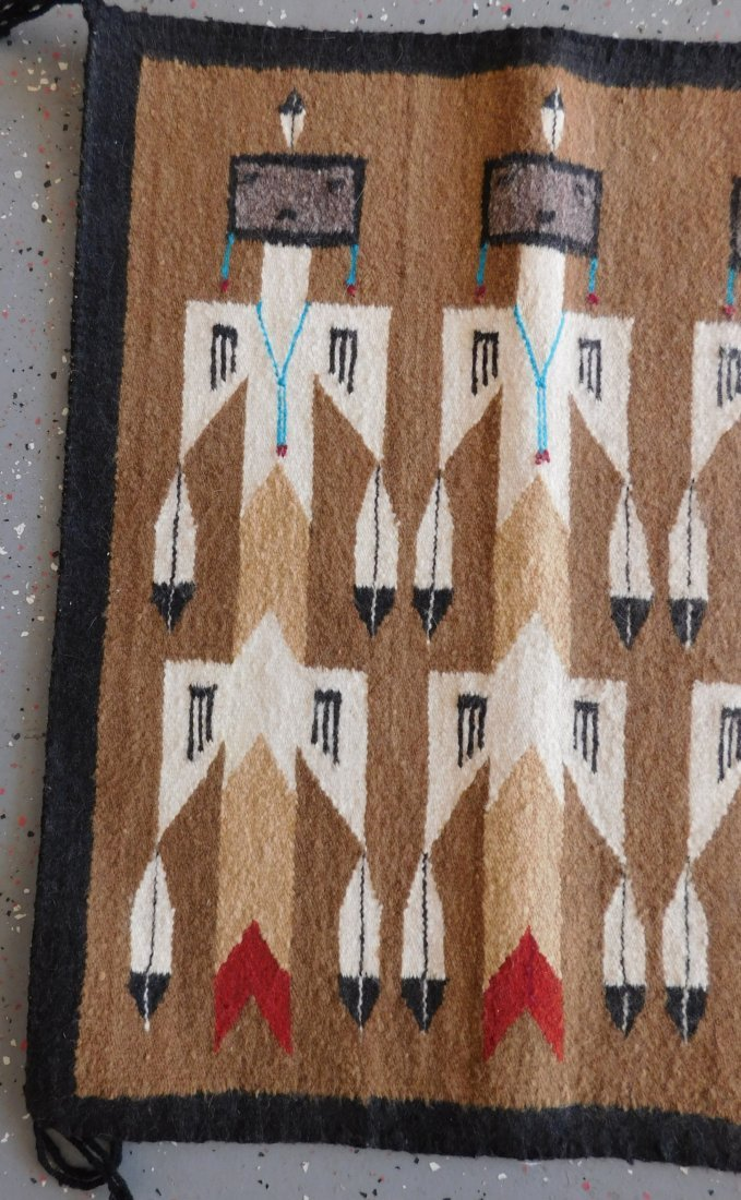 Yei Navajo Weaving - 9