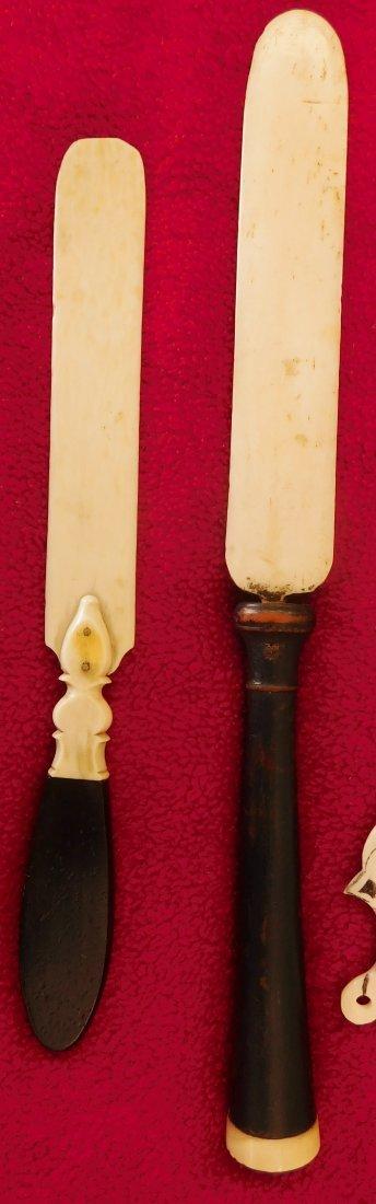 4 Eskimo Bone Letter Openers - 3