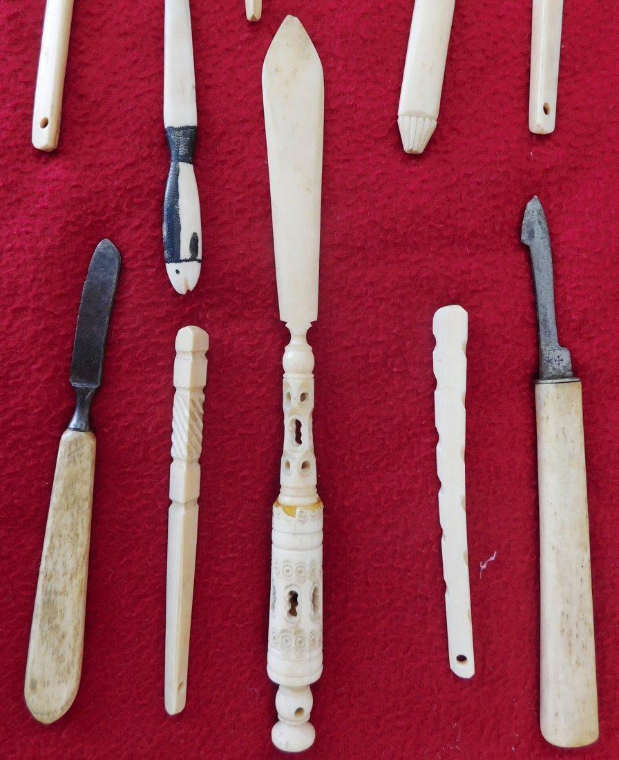 10 Eskimo Tools & Carvings - 3
