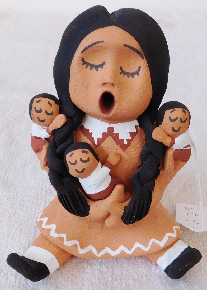 Choctaw Storyteller Doll