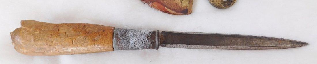 Brass Pipe Tomahawk Frame - 9