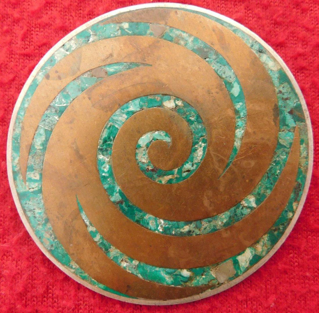 2 Mexican Modernist Pins - 3