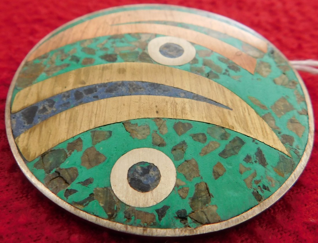 Antique Mexican Pin - 2