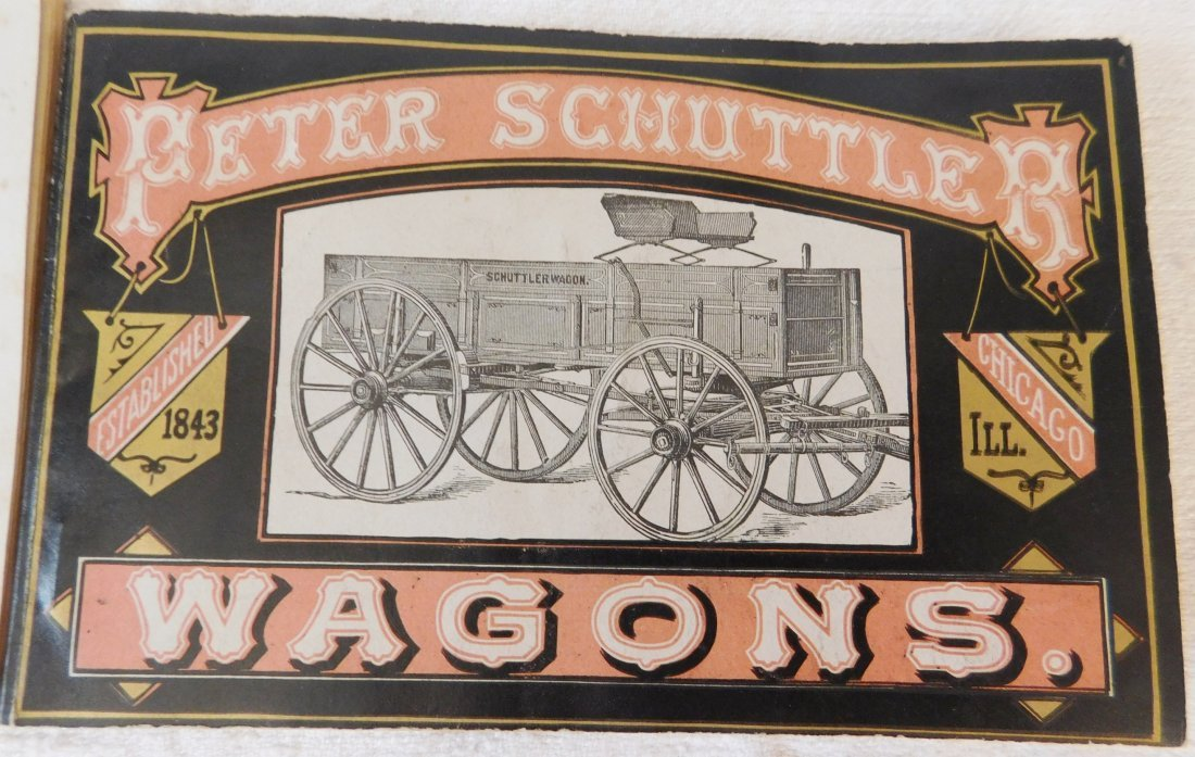 4 Antique Wagon Catalogs - 4