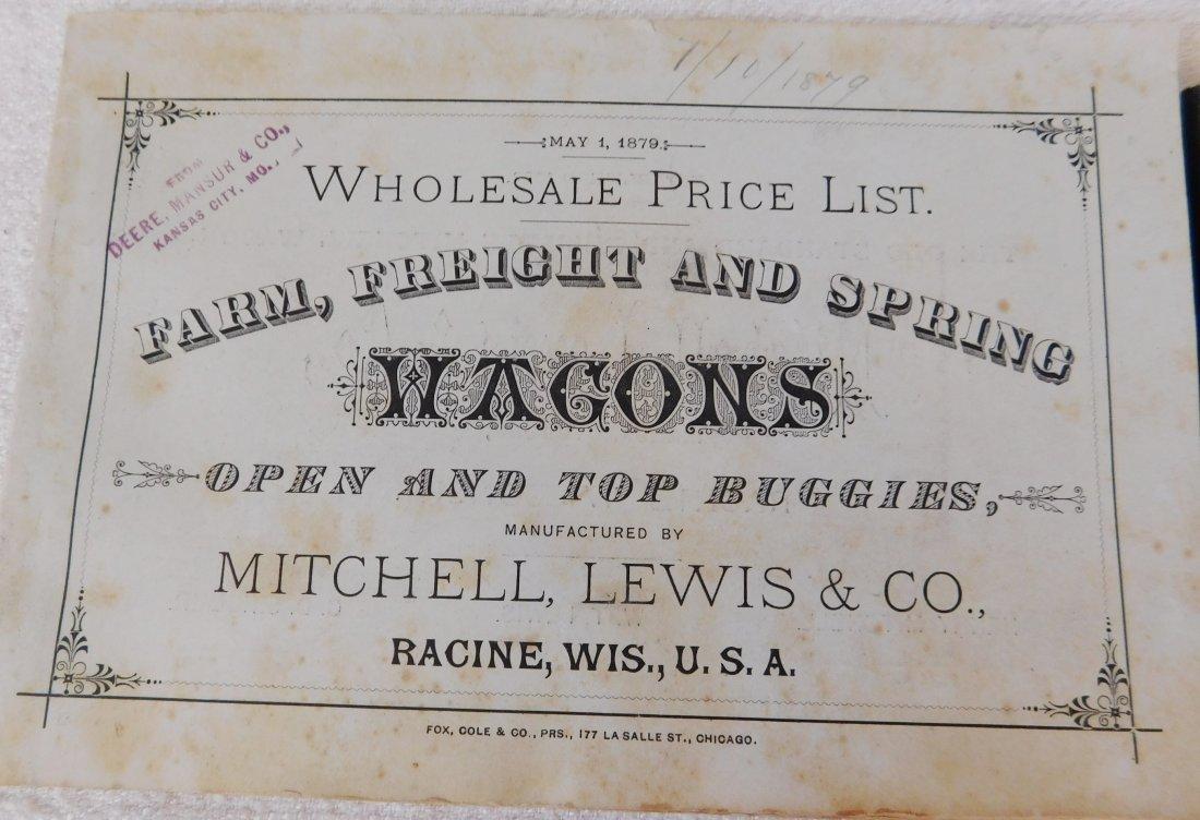 4 Antique Wagon Catalogs - 5