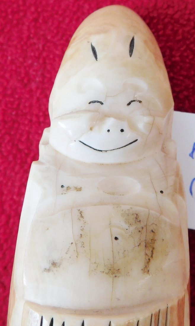 Eskimo Bone Figure - 6