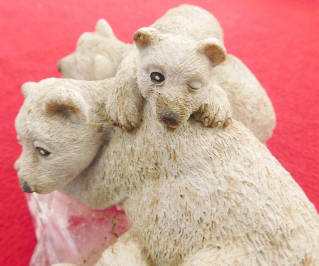 Sculpture of Polar Bear & Cubs - 3