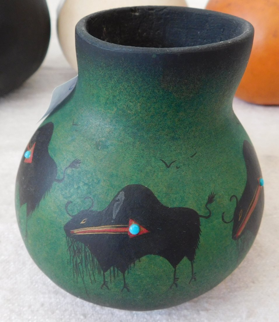 Painted Gourds - 5