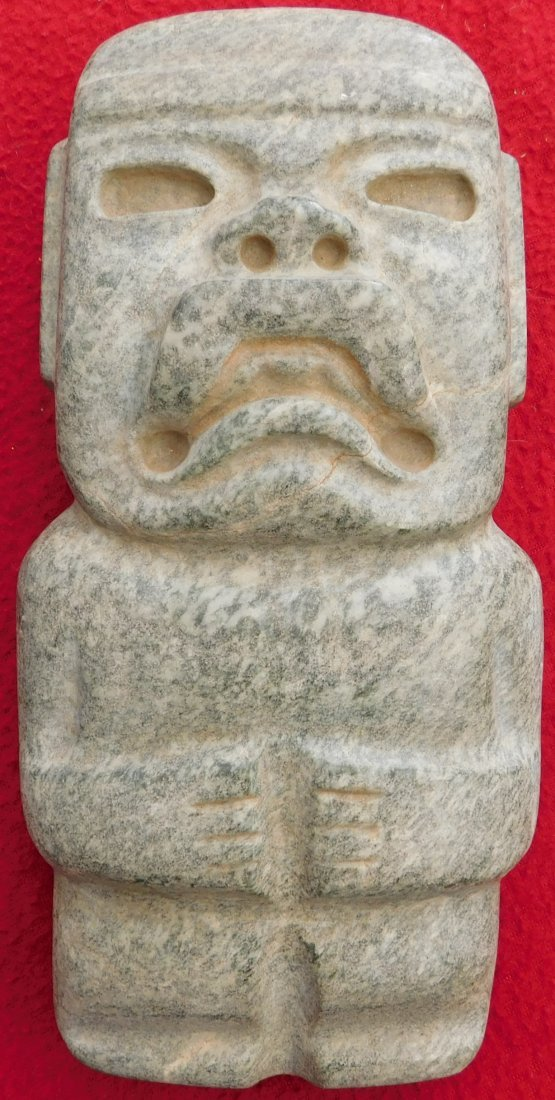Olmec Stone Figure