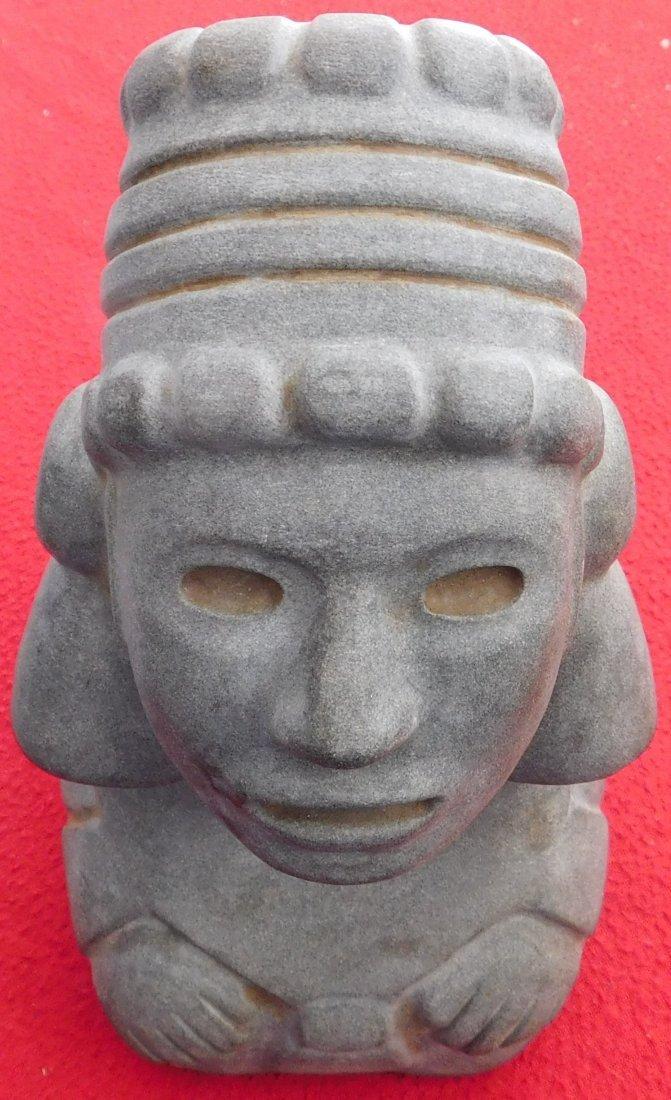 Aztec Stone Figure