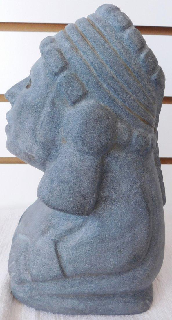 Aztec Stone Figure - 8