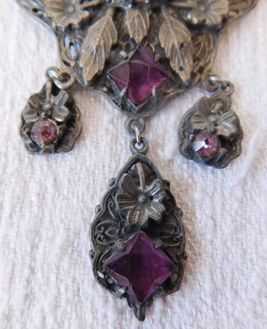 Indian Silver Necklace - 2